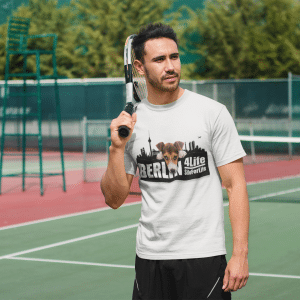 Berlin Dog – Unisex-T-Shirt aus Bio-Baumwolle