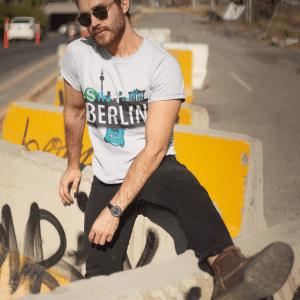Berlin Silv4Life – Unisex-T-Shirt aus Bio-Baumwolle