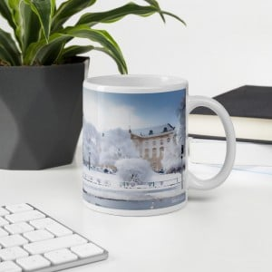 Berlin Palast Winter – Tasse