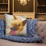 Embarassed Dog – Premium-Kissen