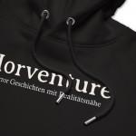 Horventure – Typo – Premium Unisex Hoodie