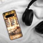 Forecourt of House on Autumn – Samsung Handyhülle